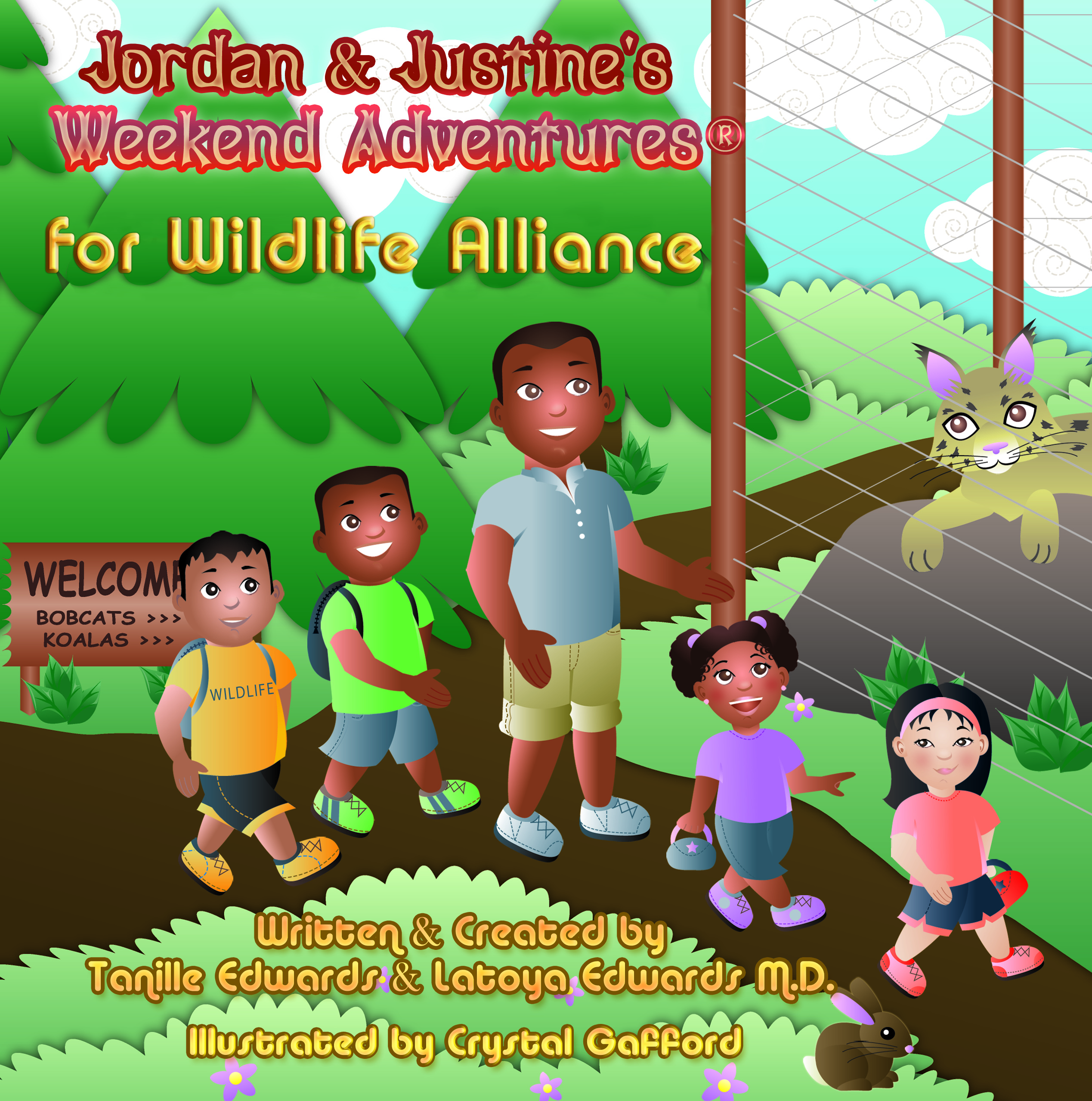 Jordan and Justine's Weekend Adventures for Wildlife Alliance…Tanille Edwards-Book Tour Review