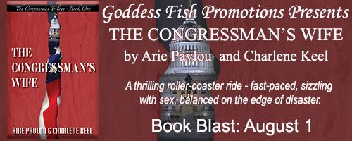 The Congressman's Wife...by Arie Povlou and Charlene Keel-Book Blast