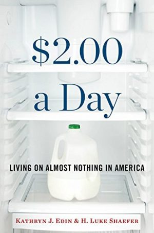 $2.00 A Day:Living On Almost Nothing In America…by Kathryn Edin, H. Luke Shaefer